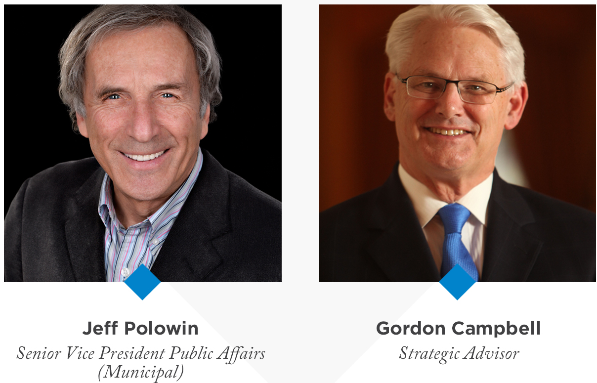 Jeff Polowin and Gordon Campbell
